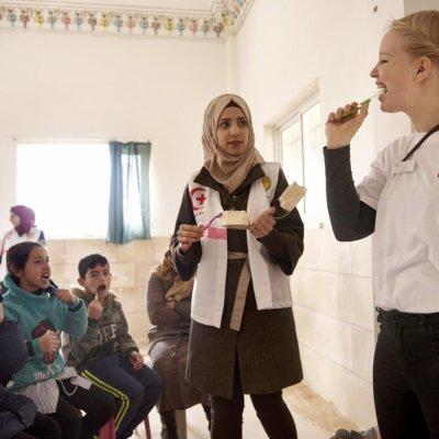 Dar Khalawi, Bethlehem. Tandsundhed uden Grænser.